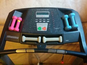 Treadmill (Gold's Gym) for sale