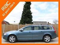 2012 Volvo V70 2.4 D5 SE Turbo Diesel Geartronic 6 Speed Auto Estate Sat Nav Blu