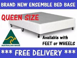 QUEEN Size LATEX Bed Ensemble Mattress + Base FREE DELIVERY New Farm Brisbane North East Preview