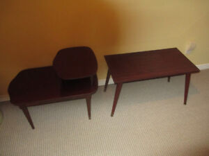 2 COFFEE TABLES