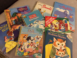 Children's book lot Disney
