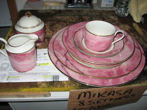 8 PLACE SETTING MIKASA JAPAN FINE CHINA EXCELLENT