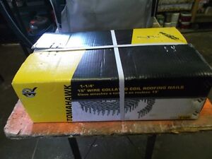 Full box coil roofing nails