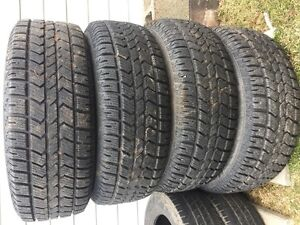 For Sale - Set of Arctic Claw tires on Steel rims