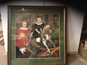 Children on a Rocking Horse