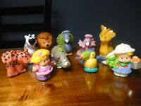 lot de figurines fisher price # 1