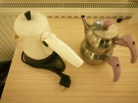 Turkish Coffee machine and teapot
