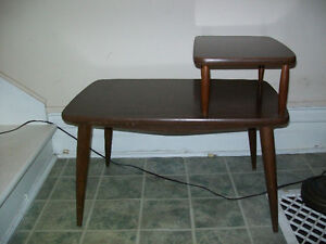 SIDE CHAIR TABLE 1970's