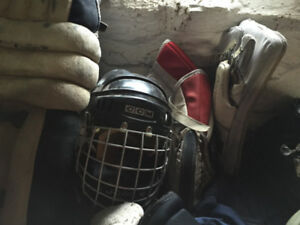 Hockey Equipment and Roller Blades for Sale