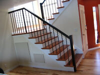 Hardwood Stairs installation reasonable price