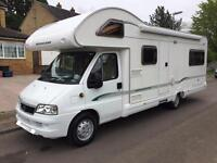 6 Berth Bessacarr E495 Motorhome SALE AGREED, DEPOSIT TAKEN