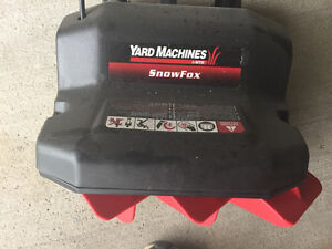 Yard Machine Snow Fox; Electric Snow Shovel London Ontario image 1