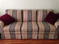Sofa and matching love seat