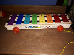 Jouet  antique / vintage Fisher Price xylophone