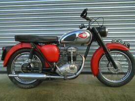 BSA C15 Classic British motorcycle