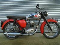 BSA C15 Classic British motorcycle