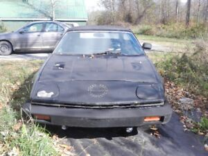 1979 TRIUMPH TR-7 CONVERTABLE FOR PARTS (or - whatever)