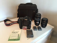 Canon EOS 20D DSLR camera package