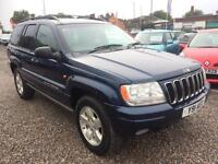 2001 JEEP GRAND CHEROKEE 4.0 Limited Auto 4 X 4 LOW MILES FULL LEATHER