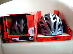 New Adult Bell Muni bike helmet (only one left)