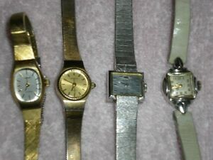 4 ANTIQUE COLLECTIBLE WATCHES