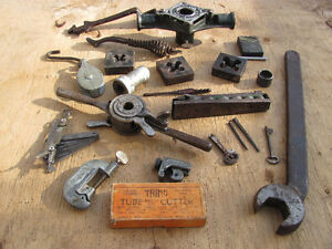 Variety of OLD VINTAGE TOOLS ETC.