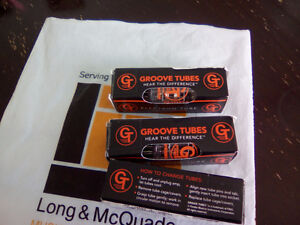 3 brand new GT Groove Tubes GT-12AX7-C Preamp Tubes
