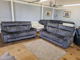 Scs Nero powered electric recliner sofas brand new