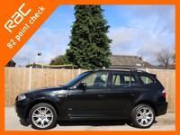 2009 BMW X3 3.0sd Turbo Diesel 282 BHP M Sport 6 Speed Auto 4x4 4WD Sat Nav Full