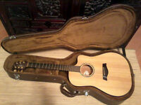 Timberline T30DC acoustic guitar with hard case