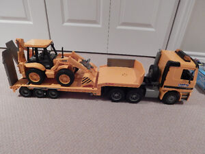 Front Loader and Trailer