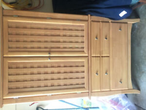 Quality cabinet Stoney Creek Furniture purchased