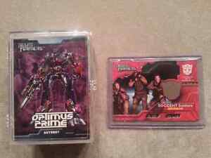 Transformers Movie Cards (Topps 2007) with chase card