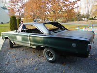 PLYMOUTH SATELLITE 1967+MOPAR 500 WEDGE CRATE ENGINE