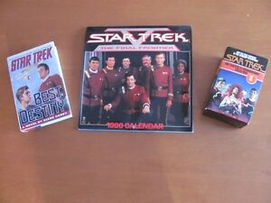 STAR TREK BOOKS AND CALENDARS