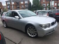 BMW 7 SERIES 745I (silver) 2002