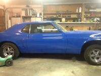 69 mustang project car