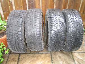 Winter tires with rims 215/55R16 -- $175