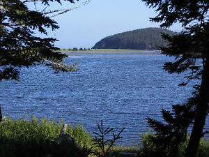 River frontage and Ocean View in Grand River, Cape Breton Island