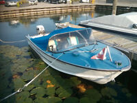 1978 Starcraft 15' running in good condition with trailer