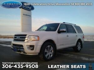 2015 Ford Expedition Platinum  Fully Loaded, Local Trade!