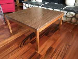 COFFEE TABLE.  Square.  30 x 30.  Wooden. As New