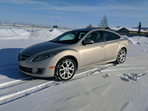 2009 mazda 6 GT loaded leather 6 speed (If ad is up car is still