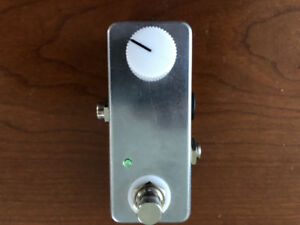 Home made booster pedal