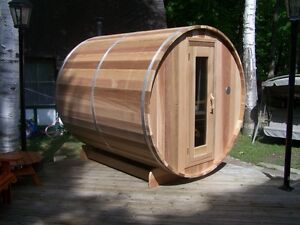 BARREL SAUNA !!! Seats 6 People, Easy to Assemble Free Delivery