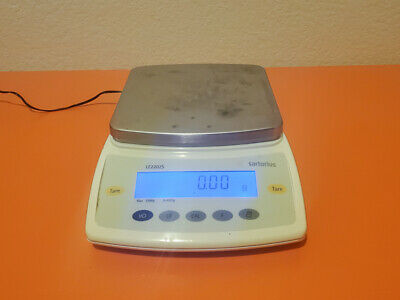 Sartorius Le2202s Digital Analytical Balance Scale W Power Supply Free Shipping