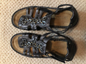 Women's leather sandals for sale
