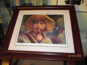 """""""Amigo"""" by Bill Stapleton, image size 14""""x18 1/2"""","""