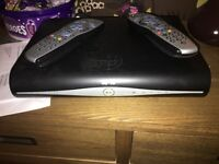 Sky plus box and 2 remotes FREE