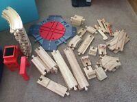 Wooden train set thomas wooden train set brand new no box